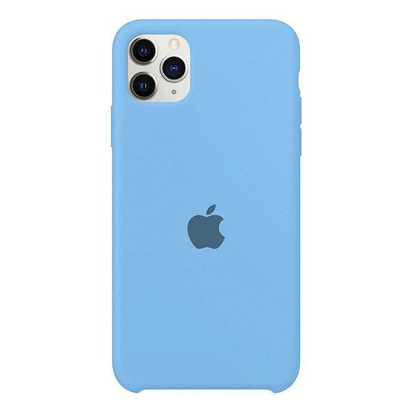 Case Capinha Azul Caribe para iPhone 11 Pro de Silicone - ZIQFABQFE