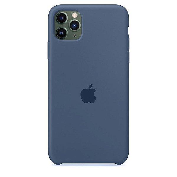 Case Capinha Azul Holandês para iPhone 11 Pro de Silicone - VV4IU003J