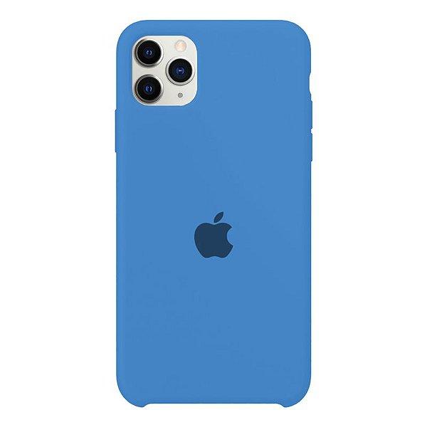 Case Capinha Azul Royal para iPhone 11 Pro de Silicone - B9VHL3H1J