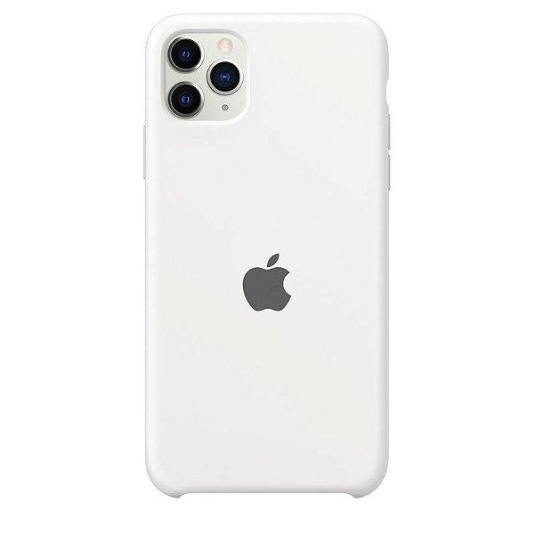 Case Capinha Branca para iPhone 11 Pro de Silicone - C6GJVGZ4A