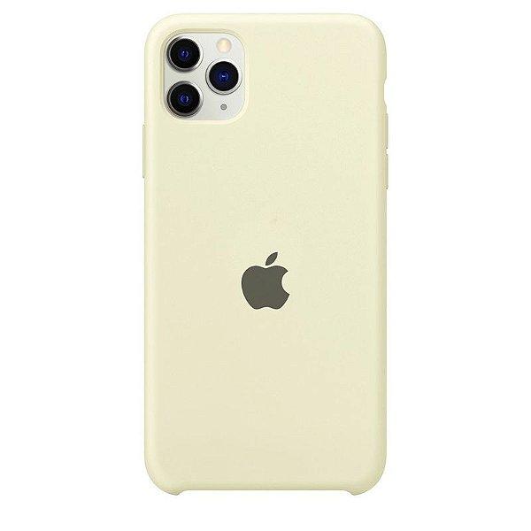 Case Capinha Branco Off-White para iPhone 11 Pro de Silicone - SDR69PYER
