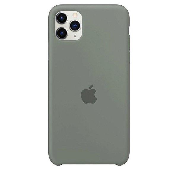 Case Capinha Cinza para iPhone 11 Pro de Silicone - KU76WNODB