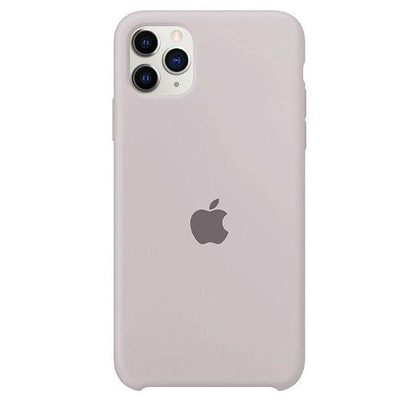 Case Capinha Cinza Concreto para iPhone 11 Pro de Silicone - 4P1T5OJQ3