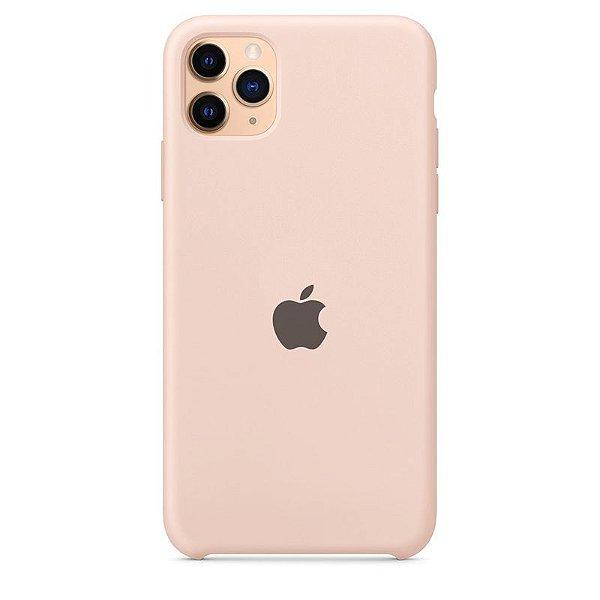 Case Capinha Rosa Areia para iPhone 11 Pro de Silicone - HAS0BTCEL