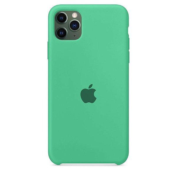 Case Capinha Verde Água para iPhone 11 Pro de Silicone - FHNKBQHVC