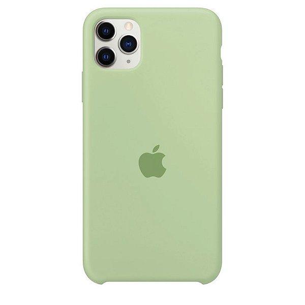 Case Capinha Verde Menta para iPhone 11 Pro de Silicone - QM781NI6C