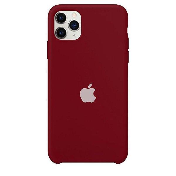 Case Capinha Vermelho Old School para iPhone 11 Pro de Silicone - 9CC2XTU4E