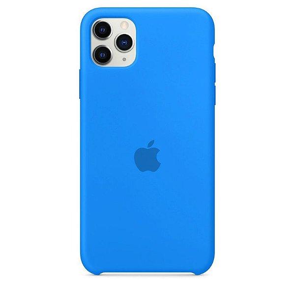 Case Capinha Azul Piscina para iPhone 11 Pro Max de Silicone - YMVIAL2IC