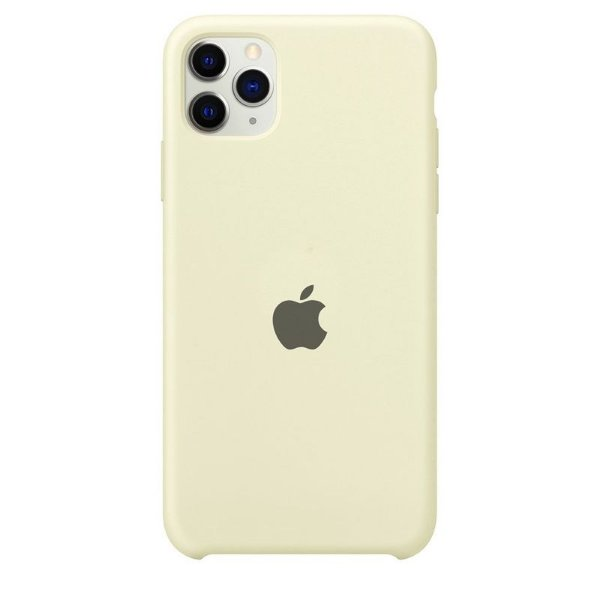 Case Capinha Branco Off-White para iPhone 11 Pro Max de Silicone - 5B5OIPWXU