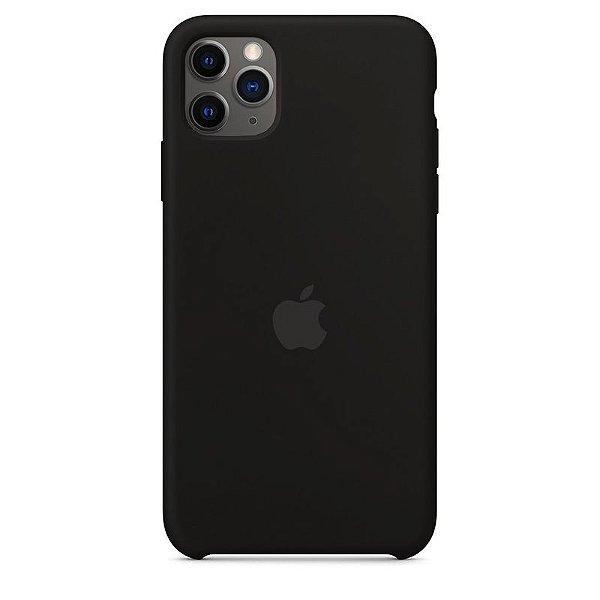 Case Capinha Preta para iPhone 11 Pro Max de Silicone - 52TPINSEY