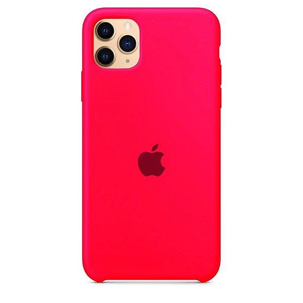 Case Capinha Rosa Pink para iPhone 11 Pro Max de Silicone - H1OMYR71L