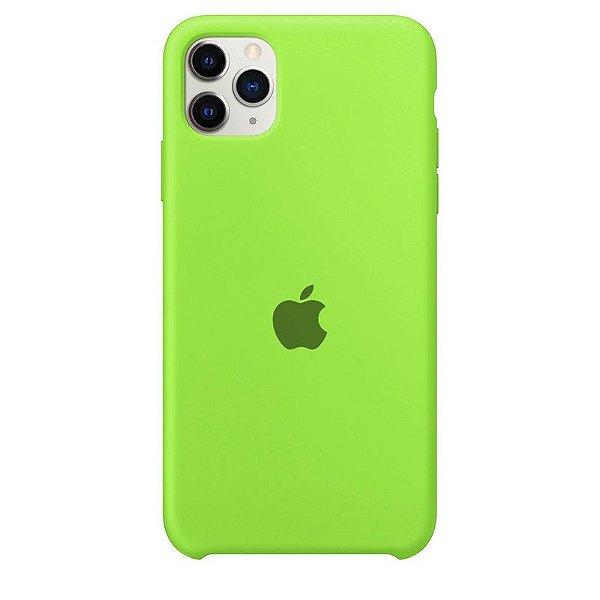 Case Capinha Verde Neon para iPhone 11 Pro Max de Silicone - JHQ4FLO5A