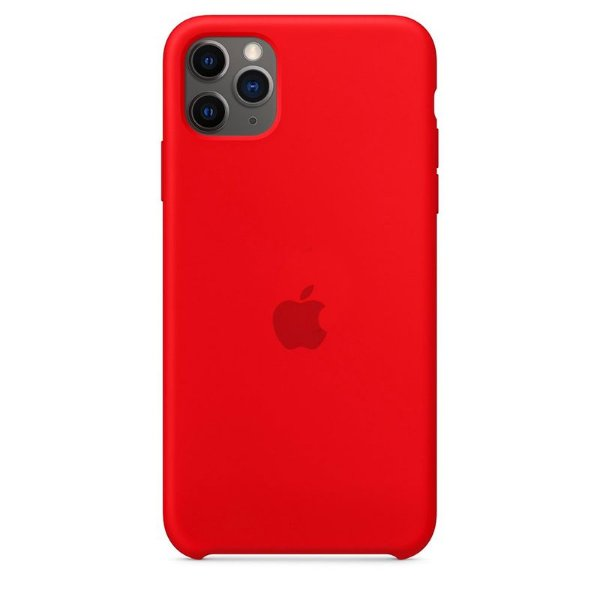 Case Capinha Vermelha para iPhone 11 Pro Max de Silicone - 2DB5AAUV6