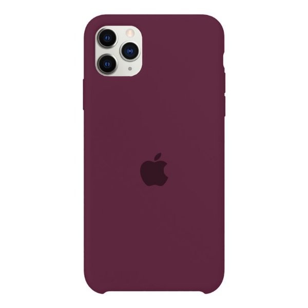 Case Capinha Vermelho Bordô para iPhone 11 Pro Max de Silicone - 7C2IH8NDG