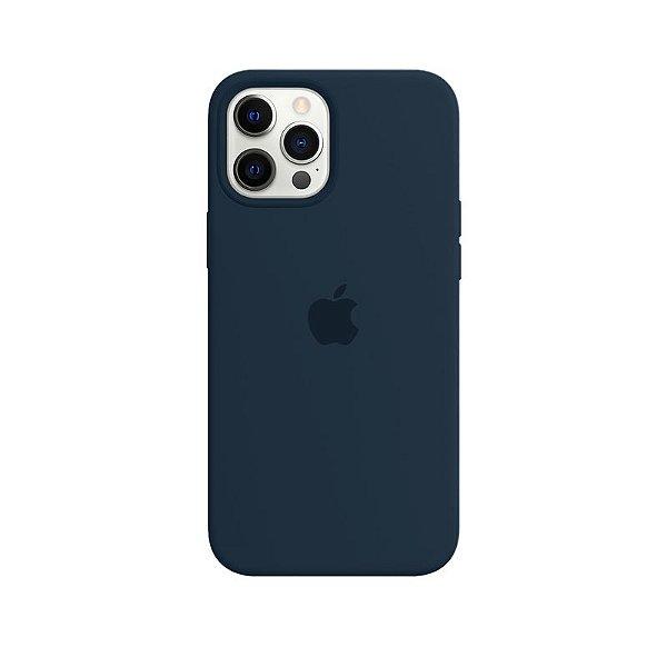 Case Capinha Azul Horizonte para iPhone 12 Pro Max de Silicone - PIXHU9QYE