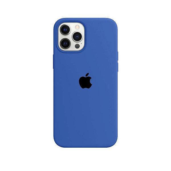 Case Capinha Azul Royal para iPhone 12 Pro Max de Silicone - VV6JKTO6D