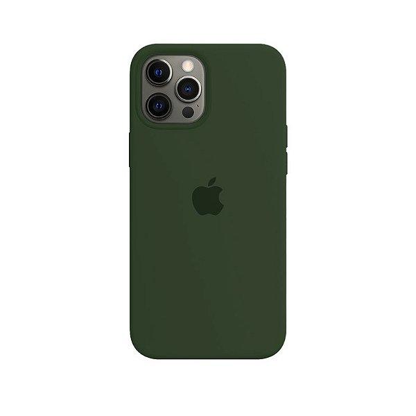 Case Capinha Verde Bandeira para iPhone 12 Pro Max de Silicone - E0VHM8CFJ
