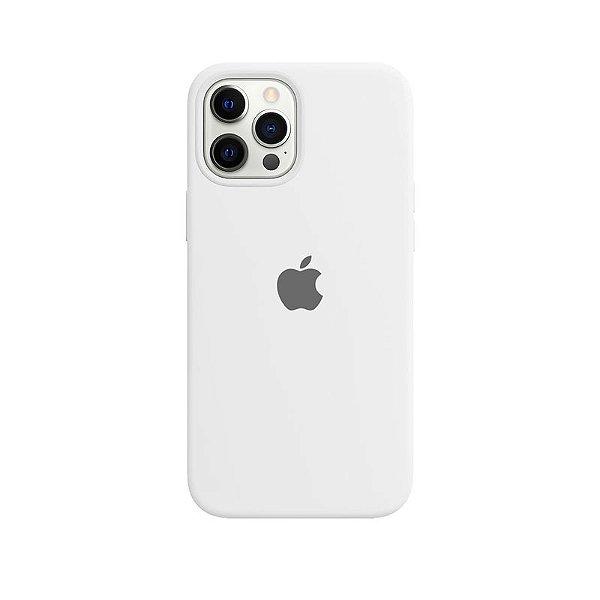 Case Capinha Branca para iPhone 12 Pro Max de Silicone - ZSK3AW78F