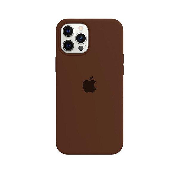Case Capinha Chocolate para iPhone 12 Pro Max de Silicone - H7XDPZVYS