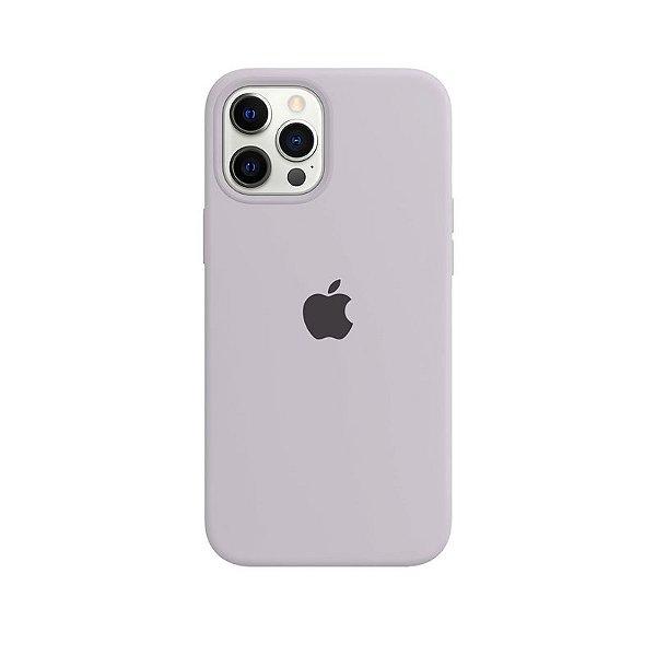 Case Capinha Cinza Concreto para iPhone 12 Pro Max de Silicone - MKXJ8YDS9