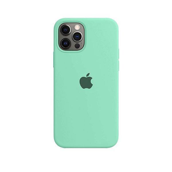 Case Capinha Verde Água para iPhone 12 Pro Max de Silicone - KVDIGHWTH