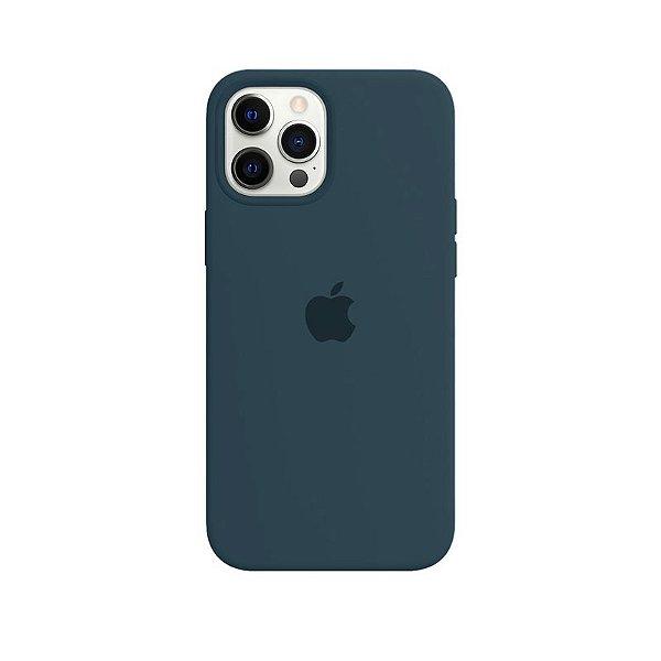 Case Capinha Verde Pacífico para iPhone 12 Pro Max de Silicone - GVES3QJWR