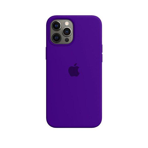 Case Capinha Violeta para iPhone 12 Pro Max de Silicone - K8AR5I8AG