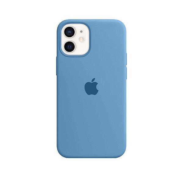 Case Capinha Azul Caribe para iPhone 12 Mini de Silicone - 9UIB1XMQR