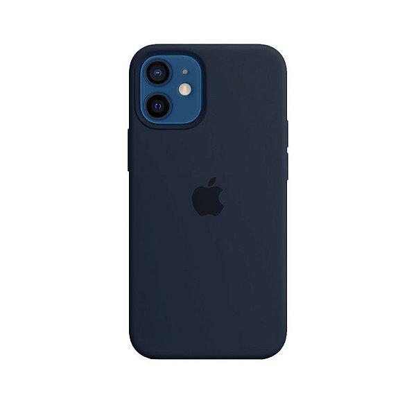 Case Capinha Azul Cobalto para iPhone 12 Mini de Silicone - Z6YHA7AN5