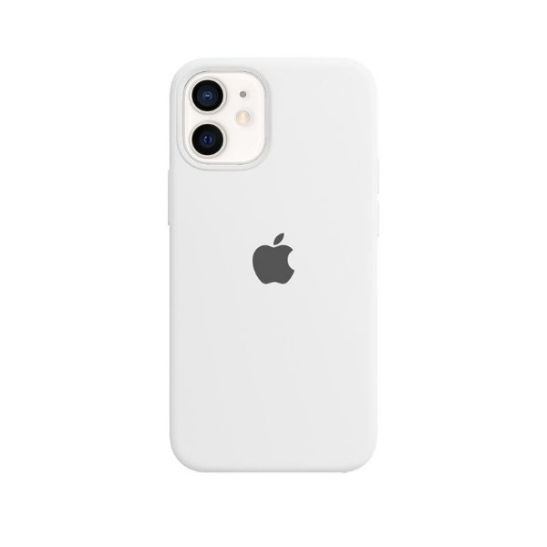 Case Capinha Branca para iPhone 12 Mini de Silicone - VS7UM9MVQ