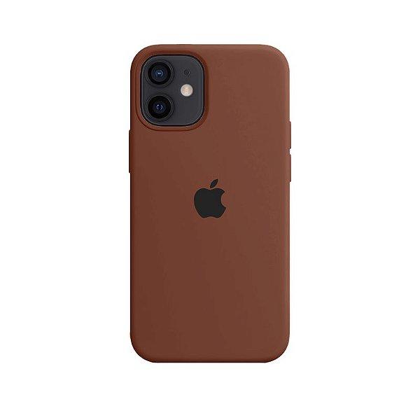 Case Capinha Chocolate para iPhone 12 Mini de Silicone - 52TRNW4N5
