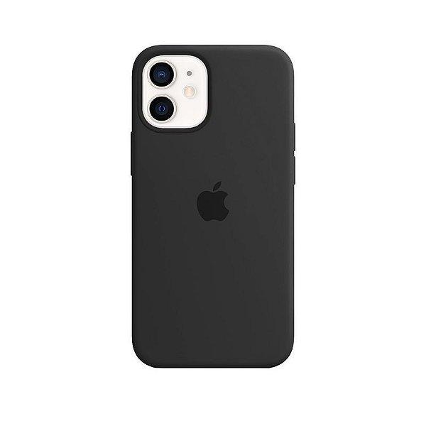 Case Capinha Cinza Escuro para iPhone 12 Mini de Silicone - 5KSXASW9S