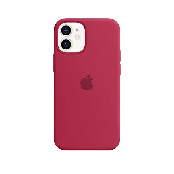 Case Capinha Romã para iPhone 12 Mini de Silicone - NHAPLI9K6
