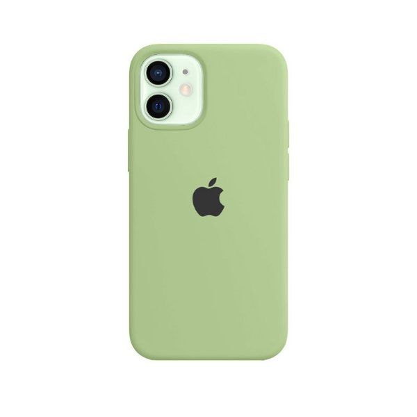 Case Capinha Verde Menta para iPhone 12 Mini de Silicone - U6JRMK8CO