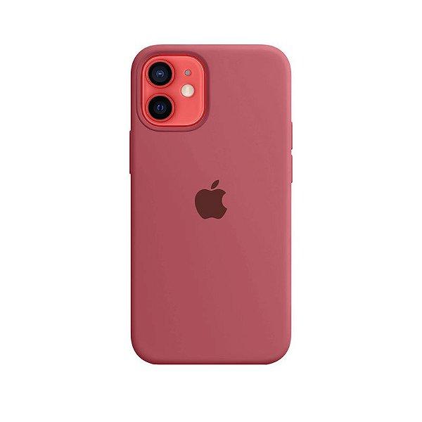 Case Capinha Vermelho Fosco para iPhone 12 Mini de Silicone - STCZ24WON