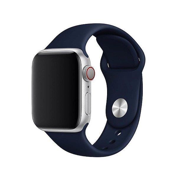 Pulseira Azul Cobalto para Apple Watch Serie (1/2/3/4/5/6/SE) de Silicone - AFNSI4VJA
