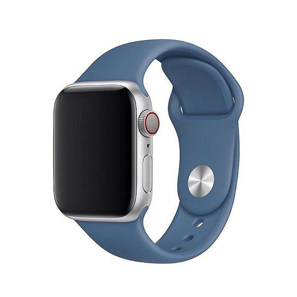 Pulseira Azul Holandês para Apple Watch Serie (1/2/3/4/5/6/SE) de Silicone - GZ3AVCD0L