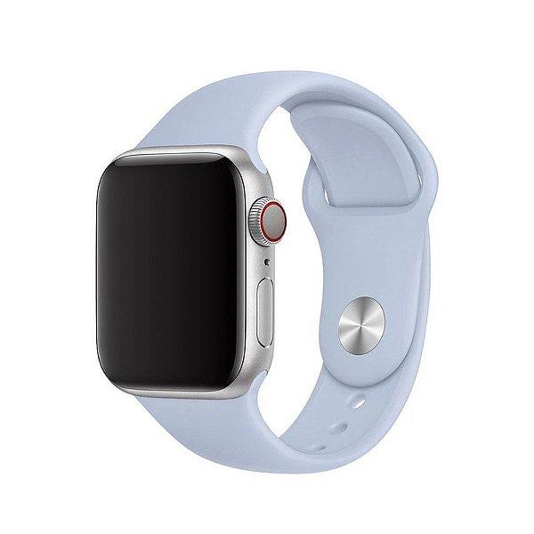 Pulseira Azul Turquesa para Apple Watch Serie (1/2/3/4/5/6/SE) de Silicone - HCR2YMTSO