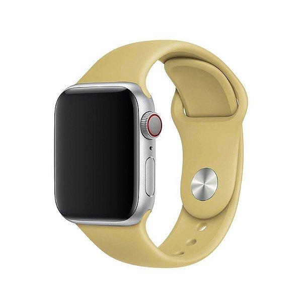 Pulseira Caramelo para Apple Watch Serie (1/2/3/4/5/6/SE) de Silicone - F1GUZ0RVZ