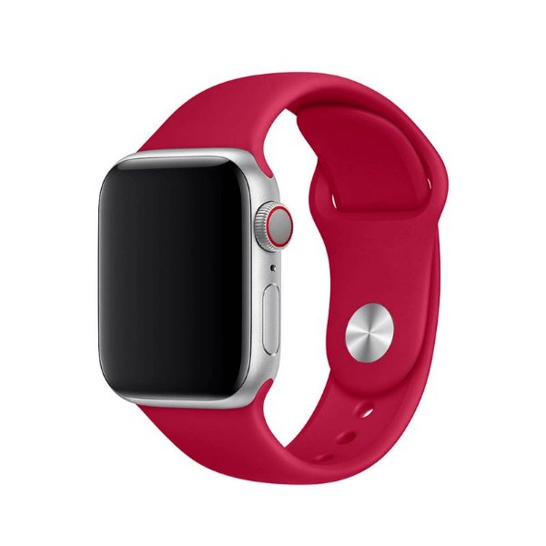 Pulseira Romã para Apple Watch Serie (1/2/3/4/5/6/SE) de Silicone - OF5C57QLP