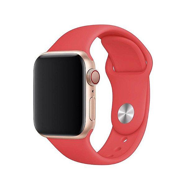 Pulseira Rosa Flamingo para Apple Watch Serie (1/2/3/4/5/6/SE) de Silicone - N70KMHCWN