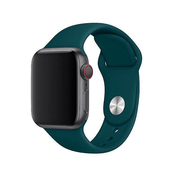 Pulseira Verde Pacífico para Apple Watch Serie (1/2/3/4/5/6/SE) de Silicone - NH3C2R0EQ