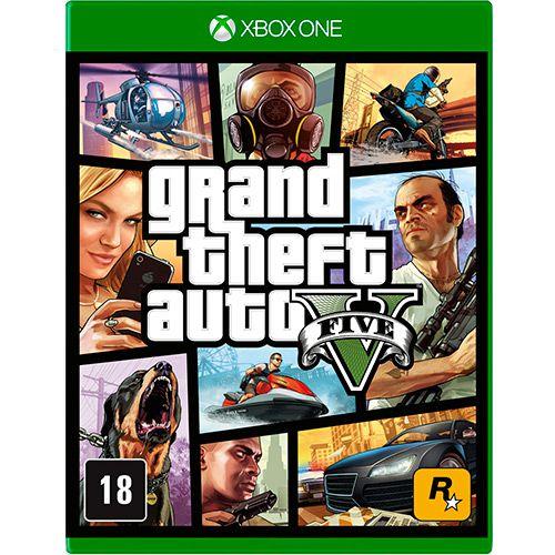 GTA 5 XBOX ONE USADO
