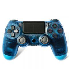 CONTROLE DUALSHOCK 4 TRANSPARENT BLUE HS-PS4206T