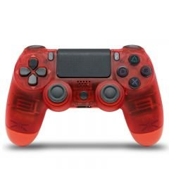 CONTROLE DUALSHOCK 4 CRYSTAL RED HS-PS4206M