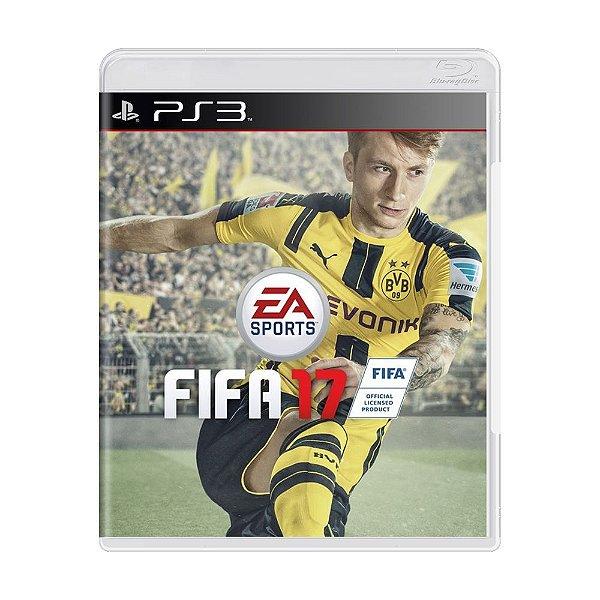 FIFA 17 PS3 USADO