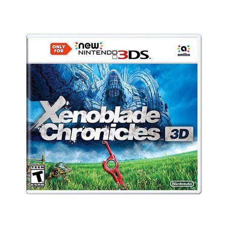 XENOBLADE CHRONICLES 3D 3DS USADO