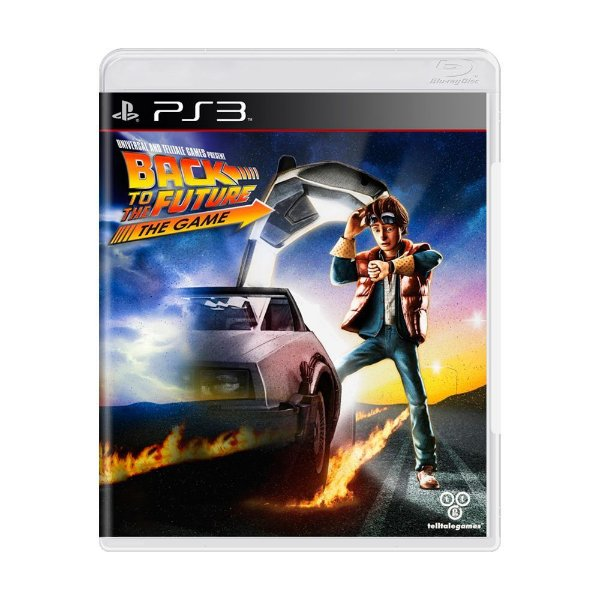 BACK TO THE FUTURE THE GAME PS3 USADO