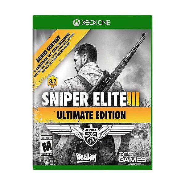 SNIPER ELITE 3 ULTIMATE EDITION XBOX ONE USADO