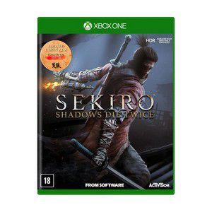 SEKIRO SHADOWS DIE TWICE XBOX ONE USADO